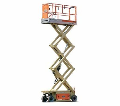 JLG 2032ES Battery Scissor Lift.png 400x355 - JLG 2646ES | Battery Scissor Lift