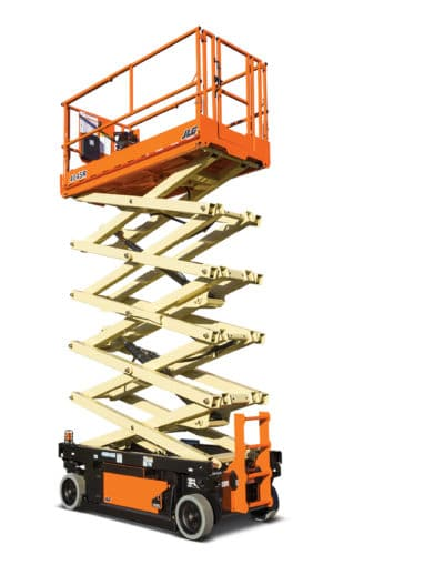 JLG4045 Battery Scissor Lift 400x509 - JLG 4045R | Battery Scissor Lift