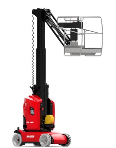 Manitou 100VJR Battery Mastlift 400x509 - NEW Manitou 100VJR Battery Mast Lift For Sale