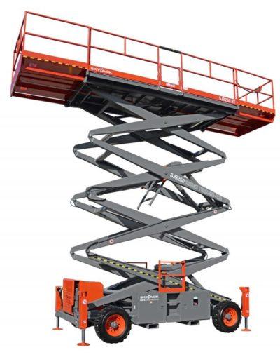 SJ9241 50 RT 400x509 - Skyjack 9241 RT | Diesel Rough Terrain Scissor Lift