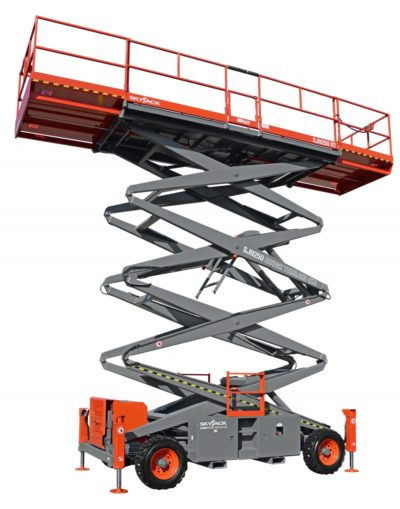 Skyjack SJ9250 RT rough terrain 4x4 400x509 - Skyjack 9250 RT | Diesel Rough Terrain Scissor Lift