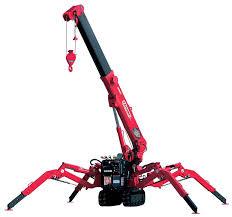 Unic 295 - Unic 295 Mini Crawler Crane