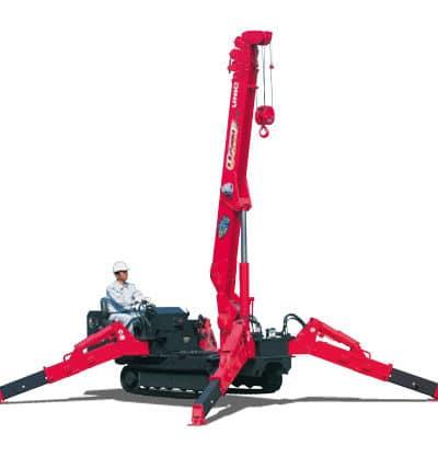 Unic 376 Mini Crawler Crane 400x417 - Unic 2.9t URW-376 Mini Crawler Crane