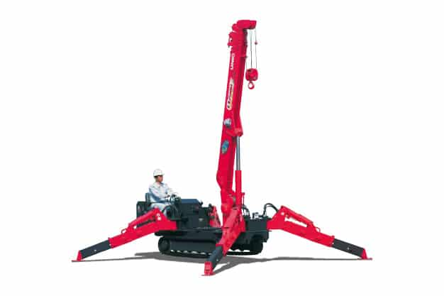 Unic 376 Mini Crawler Crane