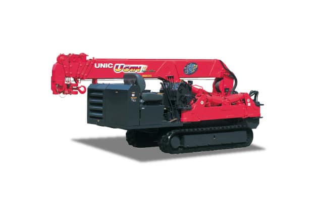 Unic 376 Mini Crawler Crane1